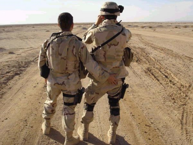 Gay military dating service
